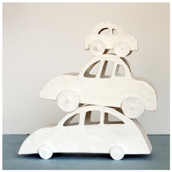 marieke dijkers - papieren autootjes