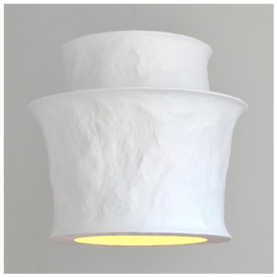 mariekedijkers - papieren lamp 50x45cm 4