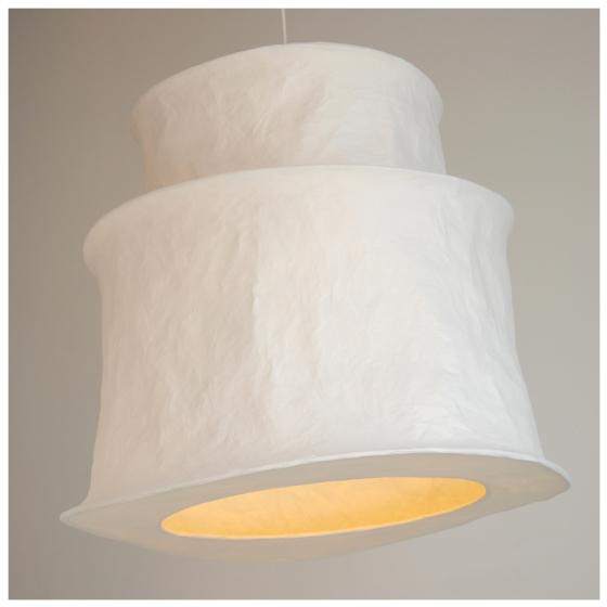 mariekedijkers - papieren lamp 70x60cm 2