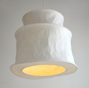 mariekedijkers - papieren lamp 70x60cm 4u
